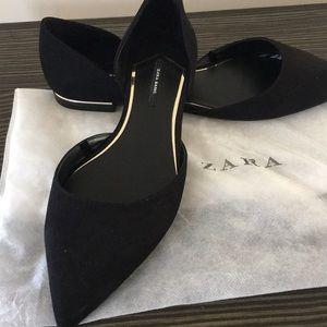 Zara Basic Black Flats